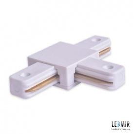Конектор T-подібний для шинопровода однофазного Feron LD1003 Білий