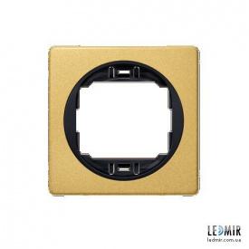 Рамка одноместная Aling-Conel EON E6801GE