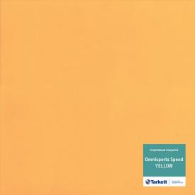 Спортивный линолеум Tarkett Omnisports Speed Yellow 200157006