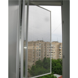 Москитная сетка на окна (на петлях) Коричневая 90, 50