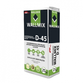 Самовирівнююча суміш для підлоги WALLMIX D-45 25 кг