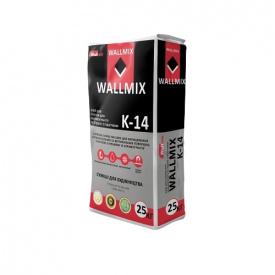 Клей для плитки и керамогранита Wallmix К-14 25 кг