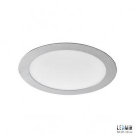Светодиодный светильник Kanlux ROUNDA Круг 18W-4000K никель