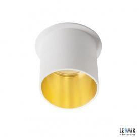 Встраиваемый светильник Kanlux SPAG L W/G GU10 Белый / Золотой