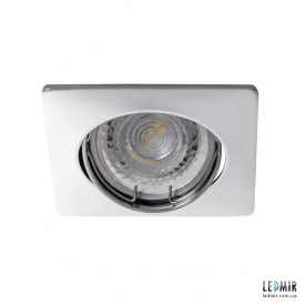 Встраиваемый светильник Kanlux NESTA DTL-C GU10 Хром