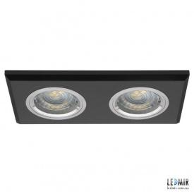 Встраиваемый светильник Kanlux MORTA CT-DSL250-B G5.3 Черный