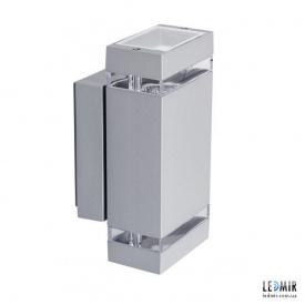 Фасадный светильник Kanlux ZEW EL-235J-GR GU10, серый