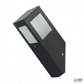 Фасадный садово-парковый светильник Horoz KAVAK/SQ-1 черный