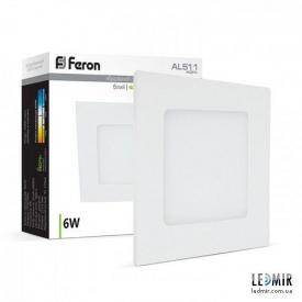 Світлодіодний світильник Feron AL511 6W-4000K