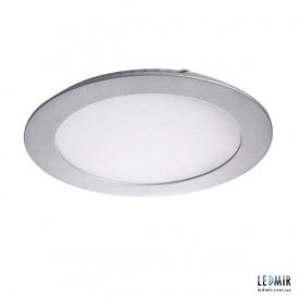 Светодиодный светильник Kanlux ROUNDA Круг 12W-4000K никель