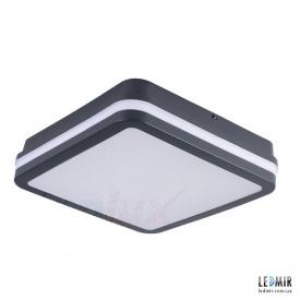Светодиодный светильник Kanlux BENO Квадрат накладной 18W-4000К черный