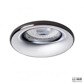 Встраиваемый светильник Kanlux ELNIS S A/C GU10 Хром / Антрацит