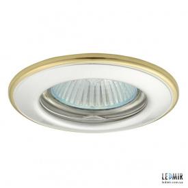 Встраиваемый светильник Kanlux HORN CTC-3114-PS/G G5.3 Белый