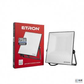 Светодиодный прожектор ETRON 1-ESP-210 75W-5000К черный