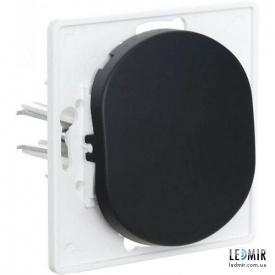 Выключатель одноклавишный Aling-Conel EON E605E1 черный