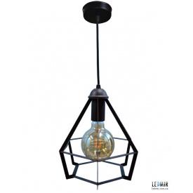 Потолочный подвесной светильник NL 0637 GRID черный
