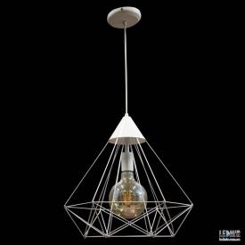 Потолочный подвесной светильник NL 0541W GRID белый