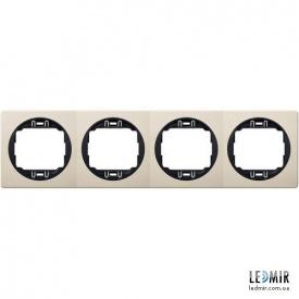 Рамка четырехместная Aling-Conel EON E6704,9E