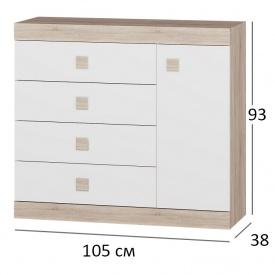 Комод для спальни Сфера 5 105х38х94 см