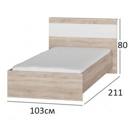 Ліжко односпальне 90х200 Сфера 900