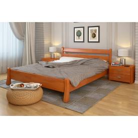 Двуспальная кровать из дерева Сосны 160х200 Венеция Ольха