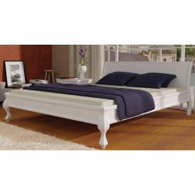 Кровать из массива Mebigrand Сосны Палермо 160х200 белая