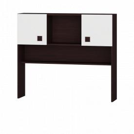 Надстройка для стола 110х96 Венге темный + Белый