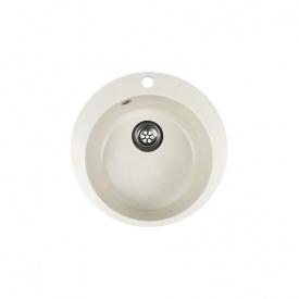 Гранітна мийка Idis Fusion №1 490 Vanilla