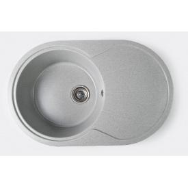 Гранітна мийка Arkana №18 775х500 Сірий