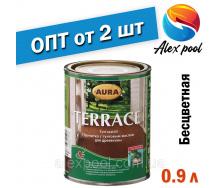 AURA Terrace просочення з тунговим маслом для дерева Безбарвна 0,9 л