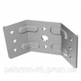 Угол для стола 00491 металл Mesan 2,5 мм
