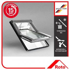 Вікно мансардне Designo WDT R69G K W WD AL 07/14 EF