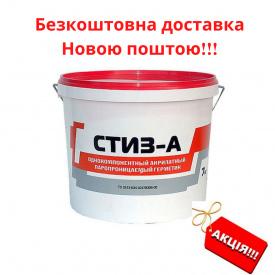 Акриловый герметик СТИЗ-А для наружных работ при монтаже окон согласно ДСТУ ведро 7 кг