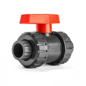 Кран шаровый Aquaviva PN16, диаметр 75 мм.