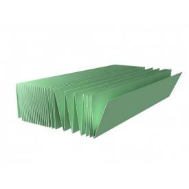Подложка-гармошка зеленая под ламинат/паркет Солид 5 мм (5,25 м2)