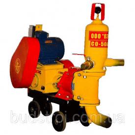 Растворонасос штукатурного раствора тип CO-49А (Двигатель 4 кВт)