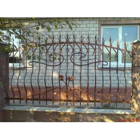 Забор кованый ЧП Брама Виконт