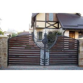 Ковані ворота ПП Брама Сара