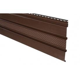Панель Айдахо коричнева перфорована 3,0 м 0,90 м2