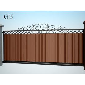Ковані ворота ПП Брама Моніка