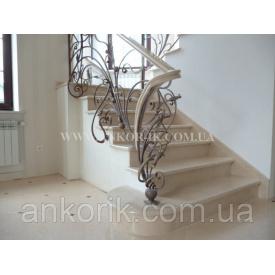 Мармурові сходи на центральному конусі 20x30мм