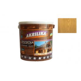 Пропитка акриловая для дерева Akrilika лиственница 2 л