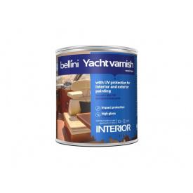 Лак для алкіду уретановий яхтовий Bellini 2,5 л