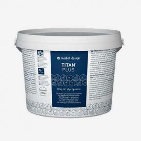 Клей для пенополистирола TITAN Plus 4 кг