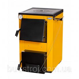 Котел на твердом топливе Буран мини - 18 кВт с варочной плитой