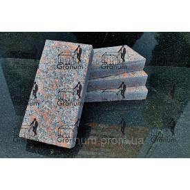 Бруківка з граніту плитка Новоданилівського родовища