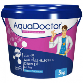 Быстрорастворимый препарат AquaDoctor pH Plus 5 кг.
