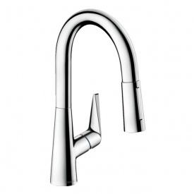 Talis S Смеситель для кухни 160 однорычажный с выдвижным душем хром HANSGROHE 72815000