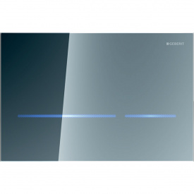 Смывная клавиша бесконтактная Sigma80 двойной смыв питание от сети зеркальное стекло GEBERIT 116.092.SM.1