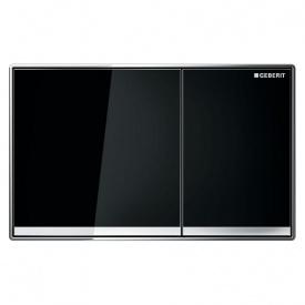 Смывная клавиша GEBERIT Sigma 60 двойной смыв стекло чёрное 115.640.SJ.1